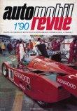 Automobil Revue č.1/1990 vyšla v říjnu, na titulu je moje fotografie z první cesty na 24 h Le Mans (na tom závodě jsem byl osmadvacetkrát)