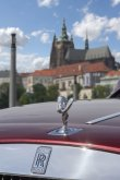 Rolls-Royce Wraith v Praze