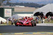 Dario Franchitti na okruhu Infineon Raceway