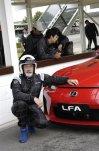 Lexus LFA při našem testování v Goodwoodu