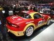 Abarth 124 Spider Rally s větším čtyřválcem 1.8 Turbo o výkonu 221 kW/300 k (série má 1.4 Turbo a výkon 125 kW/170 k)