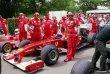 Marc Gene tradičně reprezentuje barvy Scuderia Ferrari F1