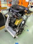 Výroba motorů TwinAir u Fiat Powertrain v Bielsko-Bialej v Polsku