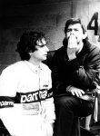 Nelson Piquet a konstruktér Gordon Murray, tvůrce úspěšných vozů Brabham