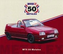 MTX Roadster 50 na oslavu padesátin Metalexu