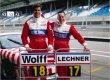 Toto Wolff (dnes šéf Mercedes-AMG F1) a Walter Lechner Jr v Porsche Cupu 2003