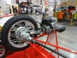 Dvouválcový boxer Ural 750 pohání nejen zadní kolo motocyklu, ale i sidecaru (tak jako kdysi u německých strojů pro Wehrmacht)