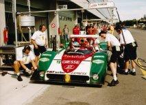 Posádka Emmanuel Collard/Vincenzo Sospiri (Ferrari 333 SP), vítězové šampionátů 1998 a 1999
