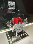 Vítězný osmiválec Ferrari F154 CB s přeplňováním dvojicí malých turbodmychadel