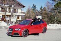 Audi RS3 Sportback jsme prohnali na Col de Turini