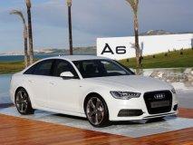 Audi A6 3.0 TFSI Quattro v resortu Verdura Golf při prezentaci