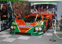Mazda 787B zvítězila ve 24 h Le Mans 1991 (vítěz v muzeu)