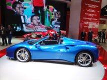 Světová premiéra Ferrari 488 Spider (otevřené verze 488 GTB)