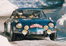 Berlinetty Alpine-Renault A110 1600S obsadily tři první místa v Rally Monte Carlo 1971 (Ove Andersson před Thérierem a Andruetem, třetím ex-aequo s Waldegaardem na VW-Porsche 914/6)