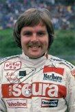 Keke Rosberg jako jezdec vozu Theodore-Ford F1 týmu Teddyho Yipa (1978; poslal v květnu 1979)