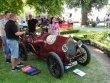 Bugatti T13 Brescia, závodní čtyřválec 1498 ccm, dovezený panem Jakubem Stauchem