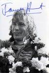 James Hunt na snímku z roku 1974 (o dva roky později byl mistrem světa F1)