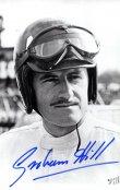 Graham Hill, mistr světa formule 1 na Lotusu (1968) a BRM (1962)
