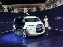 Citroën Tubik Concept, až devítimístný minivan, vzpomínka na typy H a TUB…