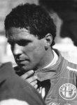 Roberto Guerrero jako jediný hájil barvy Alfa Romeo (odpadl na Marchu 89C Alfa)