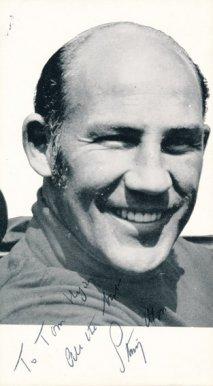 Stirling Moss (foto poslal v roce 1974)