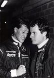 S Fritzem Kreutzpointerem při 24 h Le Mans 1991 (Sauber-Mercedes, dojeli pátí)